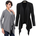 Hot Women summer Long Sleeve Cotton Outerwear Coat Open Front Casual Tops Jacket