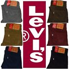New Levi's Men's 511 Slim Fit Corduroy Jeans Many Sizes Many Colors ***NWT***