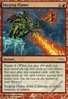 4 PROMO FOIL Surging Flame - Arena League Mtg Magic Red Rare 4x x4