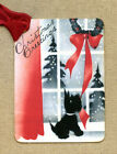 Hang Tags BLACK SCOTTIE TERRIER DOG CHRISTMAS TAGS or MAGNET #8  Gift Tags