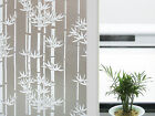 CHOIS GW014 Adhesive Cling Privacy Frosted Bamboo Glass Window Films 35  Width