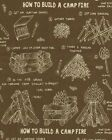 Campfire Boyscout Fabric Campground Nature Woods Outdoors 100% Cotton New OOP