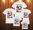 CARS Birthday T-Shirt LIGHTNING McQUEEN Personalized Custom  Family Shirts