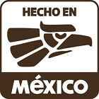 "Hecho en Mexico Vinyl Decal Big 5.5"" Mexican Pride Born In Sticker FREE S&H"
