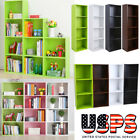 Bookcase 3/4 Shelf Storage Bookshelf Wood Furniture Adjustable Book Shelving