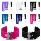 Silicone Watch Band Strap + Tool+Pins for Garmin Vivoactive HR Sport Smart Watch