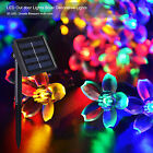 Solar Power 50 LED 21 ft Waterproof Outdoor  Decorative String Lights