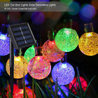 30 LED 20 ft  Solar Power Crystal Ball Outdoor/Indoor Decorative String Lights
