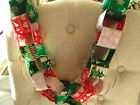 Beautiful fabric Christmas garland-looks like paper chains-3 patterns to choose!