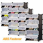 Multi Big Cube Interlocking Plastic Storage DIY Shoe Rack Organizer Save Space