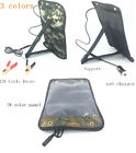 solar 12v 5w battery charger with usb in 3 colors for car motor 5v powerbank mp3