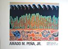 Amado Pena Earth Wind and Fire Hobar Gallery 1980 28x22.5 signed in pencil