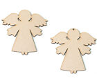 Wooden MDF Angel Shapes Mini Angels Christmas confetti Craft Embellishment 20mm