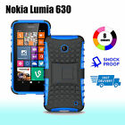 TPU Case Cover For Nokia Lumia 630 635 Silicone Shockproof With Kickstand