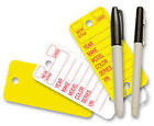 Versa Tags Key Tags, Auto Dealer Key Tags, Poly Tags with Rounded Corners