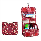 Foldable hanging toiletry bag Travel  Cosmetic Storage organizer Pouch