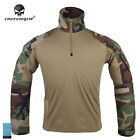 G3 Tactical Shirt Emerson Outdoor Sports Clothing Airsoft Jacket Woodland 9278