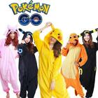 Hot Sale Pokemon Unisex Adult Pajamas Kigurumi Cosplay Costume Animal Onesie