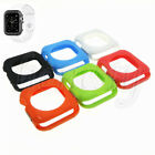 Gel Rugged Case Cover Bumper Screen Guard Protector For 42mm Apple Watch i watch