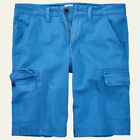 "Timberland Men's Webster Lake Blue Twill Cargo Shorts (11"" Inseam) Style A1EG5"
