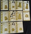 Lot of 11 Vintage Women's Lingerie Slip Bra Panties Nightgown Sewing Patterns