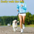 Hands Free Running Dog Leash with Reflective Strip for Jogging Walking Hiking