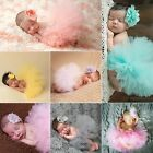 newborn red tutu - Cute Toddler Newborn Baby Girl Tutu Skirt Headband Photo Prop Costume Outfit HO