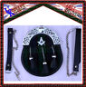 More images of Full Dress Kilt Sporran Black Watch Masonic Crest With 3 Tassels & Chain