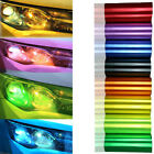 12''x48'' Car Headlight Tint Film Taillight Vinyl Wrap Fog Light Sticker13 Color
