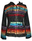 RJ 340  Agan Traders Funky Cotton Bohemian Handcrafted Patch Work Jacket ~ Nepal