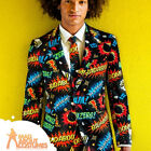 Adult Badaboom Oppo Suit Comic Book Mens Stag Fancy Dress Outfit New