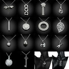 Mixed 1x Fashion Women 925 Sterling Silver Plated Necklace Pendant Jewelry Gift