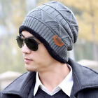 Fashion Unisex Men Women Knit Wool Cap Winter Warm Sport Beanie Crochet Hats NEW