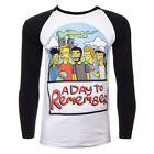 A Day To Remember - Unisex Simpsons Long Sleeve T Shirt - ADTR Official Band Tee