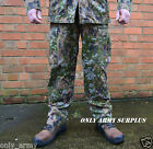 RARE Luxembourg Military Flecktarn Trousers Combats Uniform Heavy Duty Woodland