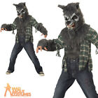 Child Howling at the Moon Costume Werewolf Halloween Boys Fancy Dress Outfit New