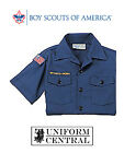 BSA Boy Scouts of America Blue YOUTH Cub Scout Short Sleeve Shirt - All Sizes
