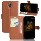 Flip Magnetic Card Wallet PU Leather Case Stand Phone Cover For UMI Rome /Rome X