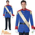 Adult Storybook Prince Charming Costume Fairytale Mens Fancy Dress Outfit New