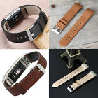 New 2016 Genuine Leather Wrist Band Watch Strap For Fitbit Charge 2 Large Small