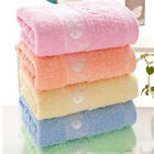 1PC Absorbent Towel Cotton Wash Cloth Washers Face Hand Wipe Gift Towels 33*75cm