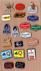 Collection JOB LOT Vtg Reynolds BIC HEMA Bruynzeel pen pencil pin badges 1960s