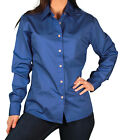 Womens Size SMALL Hartwell Corporate Wear Button Down Tailored Shirt
