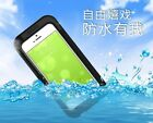 New IP68 Waterproof Dirt/Snow proof Diving Slim Case Cover for iPhone 5 5S SE 5C