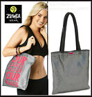 "Zumba JUMBO 21""x12""x10 TOTE Duffle BAG ""Funked Up"" ~Gym~Travel~DURABLE! Hot-Rare"