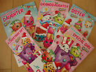 Shopkins Christmas Card Daughter Sister Granddaughter Niece Open