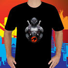 New Thundercats Panthro Old School Cartoon Men's Black T-Shirt Size S to 3XL