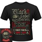 Black Label Society Destroy & Conquer Shirt S M L XL T-Shirt Official Tshirt New