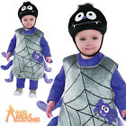 Itsy Bitsy Spider Web Costume Baby Toddlers Halloween Fancy Dress Insect Outfit