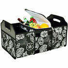 Picnic at Ascot 3-Section Foldable Trunk Organizer and Cooler Set